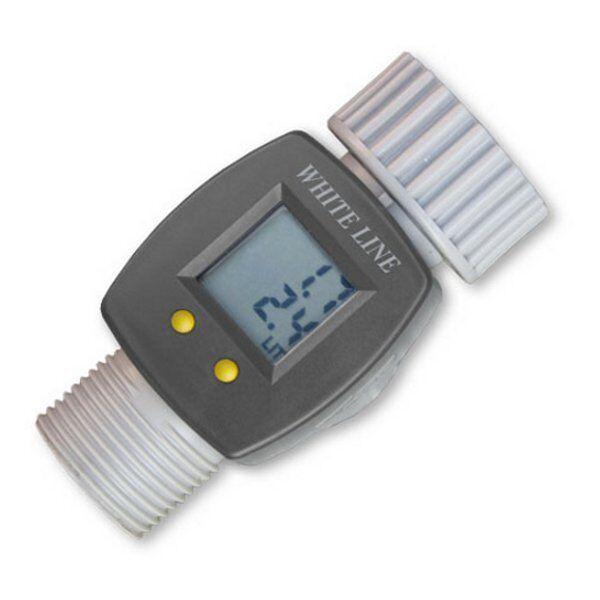 """Digitaler Wasserzähler 3/4""""  LCD Wasserverbrauch Wasseruhr WASSERMENGENZÄHLER"""