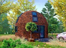 Moon House 20 Diam Dome Framing Kit Prefab Wood Pre Cut Diy Home Frame A330 Sf
