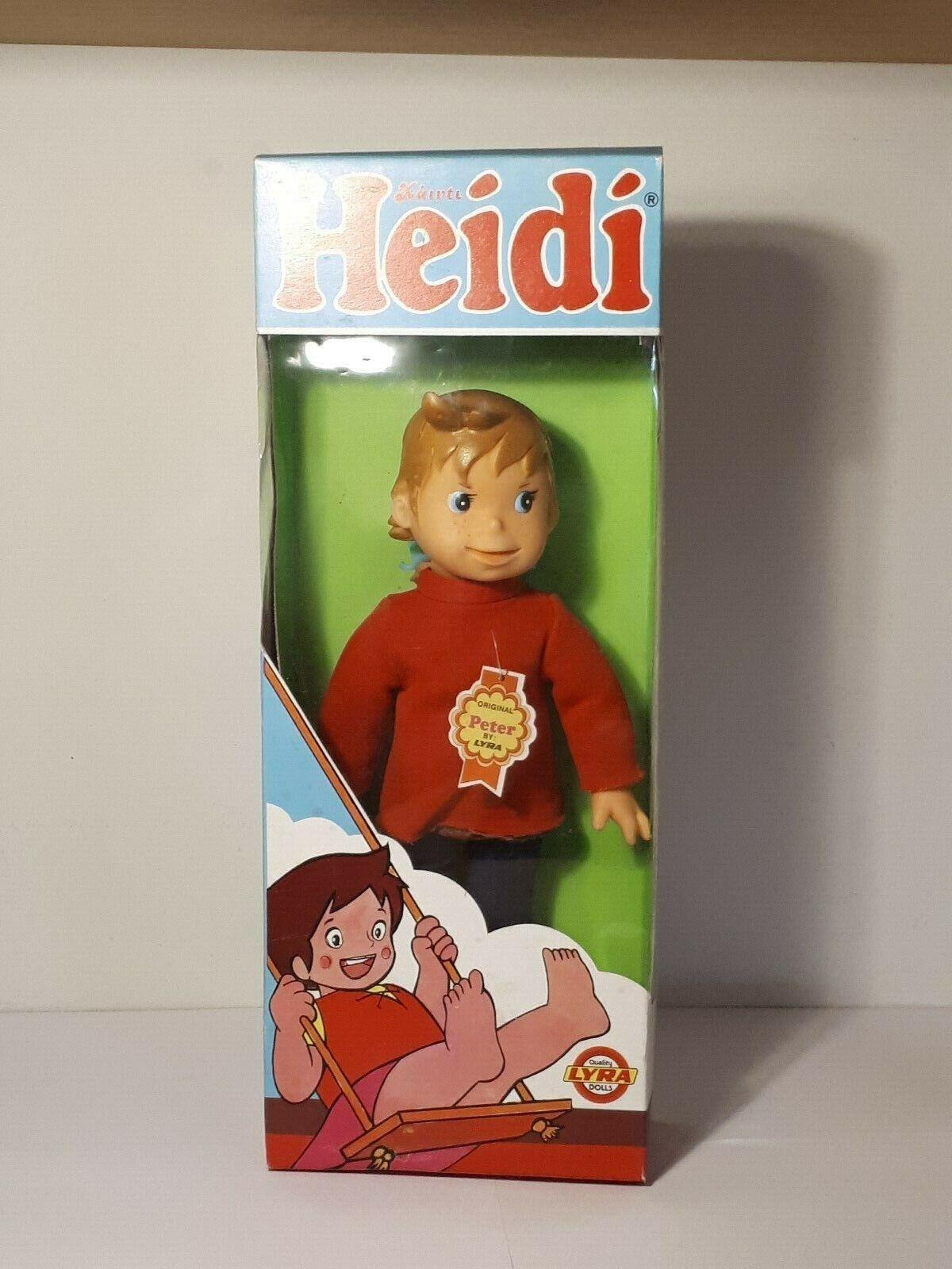 Heidi Heidi LYRA - PETER - greek vintage doll