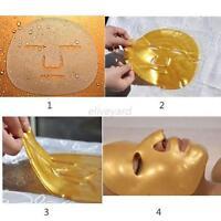 Women Crystal Gold Collagen Facial Face Mask Anti-Aging Moisturizing Skin Care