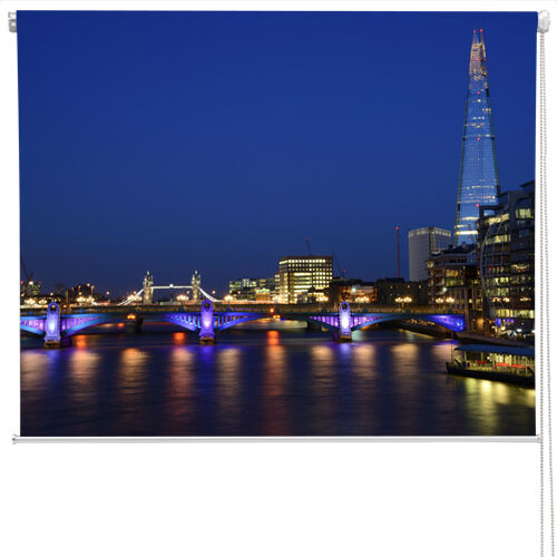 The shard, london at night taille imprimé store toute taille night e24a76
