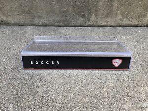 Nike-VINTAGE-Soccer-CARDBOARD-INSERT-Shoe-Shelf-Shelves-Display-for-Slat-Walls