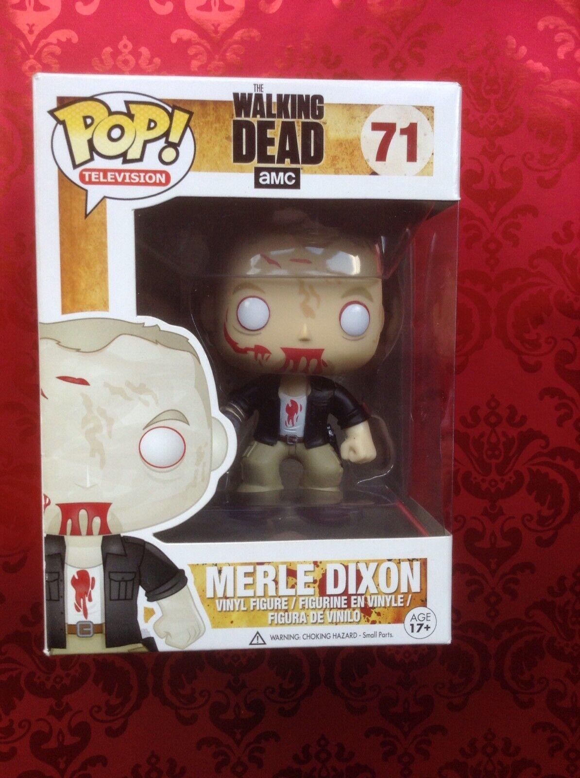 Funko Pop Vinilo The Walking Dead Zombie Merle
