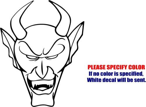 """Vinyl Decal Sticker Grim Reaper and Ghoul Car Truck Bumper Window JDM Fun 7/"""""""