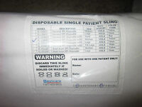 Disposable Single Patient Sling Sl-udh822 Box Of 10 (new)