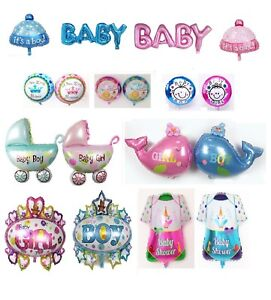 ITS-A-BOY-GIRL-FOIL-HELIUM-BALLOONS-CELEBRATION-NEW-BABY-SHOWER-PARTY