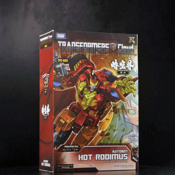 Transformers Takara 時空界 Cloud TFC-A03 Hot Rodimus Hotrod NEW  UK