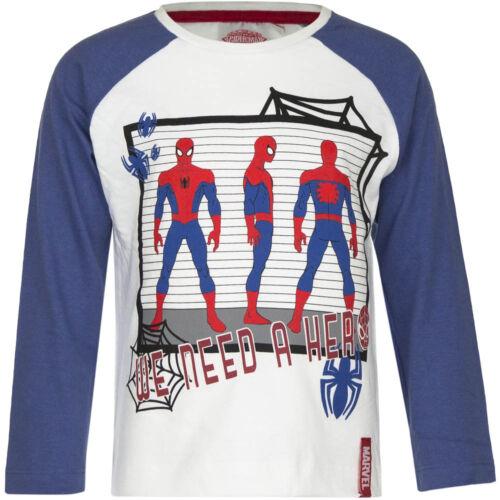 Langarmshirt Pulli Jungen Spiderman Pullover türkis gelb weiß 98 104 116 128#149