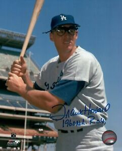Frank-Howard-Signed-8X10-Photo-034-1960-NL-ROY-034-Autograph-Dodgers-Hat-Pose-Auto-COA