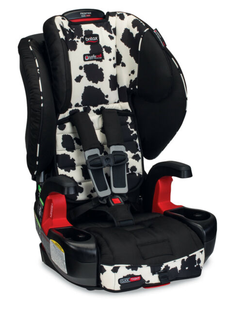 Britax Frontier ClickTight G11 Combination Booster Car Seat In Cowmooflage New