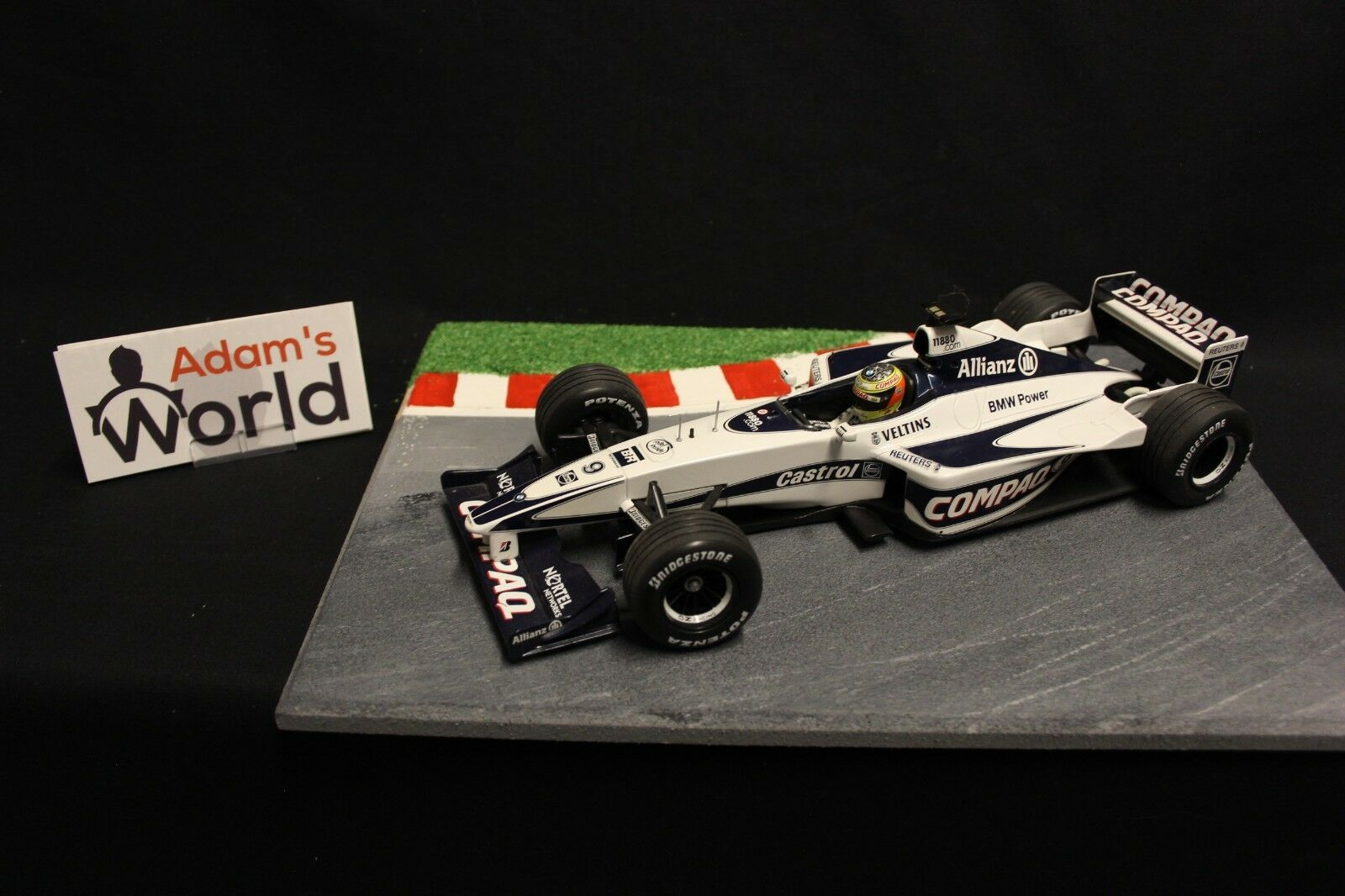 Minichamps Williams BMW FW22 2000 1 18 Ralf Schumacher (GER) (GER) (GER) (F1NB) 37afe8