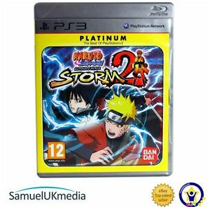 Details about Naruto Shippuden: Ultimate Ninja Storm 2 (PS3) (Platinum)  **GREAT CONDITION**