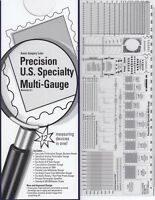 Stamps Perforation Gauge Scott Precision Us Specialty 12 In 1 Multi Go No Go