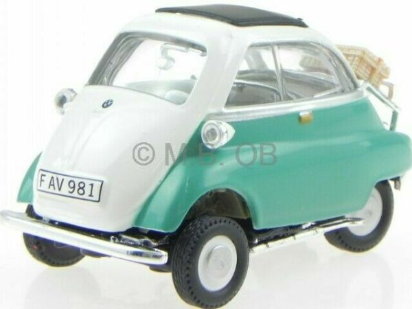 bmw isetta 250 green modelcar cararama 1 43 g nstig kaufen ebay. Black Bedroom Furniture Sets. Home Design Ideas