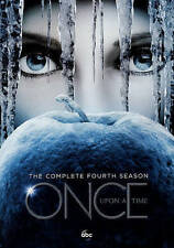 Once Upon a Time: The Complete Fourth 4th Season Four 4  (5 DVD set, 2015)  NEW
