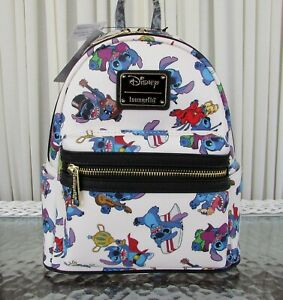 7352b116357 Details about Disney Loungefly Stitch Costumes Mini Backpack NWT