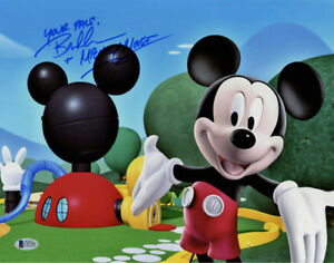BRET-IWAN-SIGNED-AUTOGRAPHED-11x14-PHOTO-VOICE-MICKEY-MOUSE-DISNEY-BECKETT-BAS