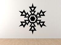 Snowflake Pattern #5 - Winter Art Christmas Decoration - Vinyl Wall Decal Decor
