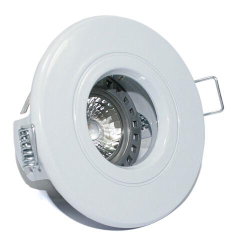 1 - 10er set bain installation cadre 230v high power LED gu10 5w = 50w variateur