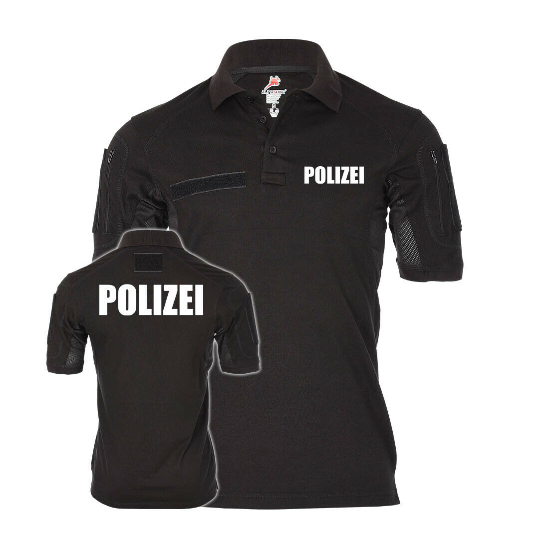 Tactical Polizei Poloshirt Alfa Behörde Einsatzkleidung Teamkleidung
