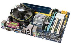 Gigabyte GA-G31M-S2L Motherboard + Intel E7200 CPU 2.53GHz + 1GB RAM [5772]
