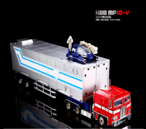New , MP - 10V(combination)optimus prime is made of alloy car toys