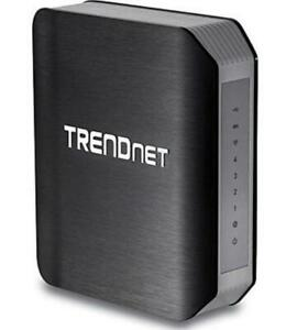 TRENDnet-AC1750-TEW-812DRU-Dual-Band-1300Mbps-AC-450Mbps-N-Wireless-Router-Blk