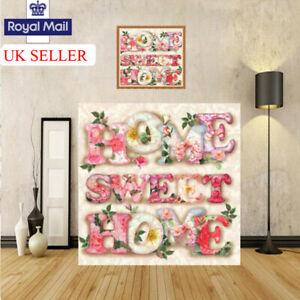 Sweet-Home-5D-DIY-Drill-Diamond-Painting-Art-Cross-Stitch-Kit-Decor-Embroidery