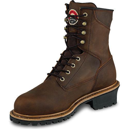 Irish Setter Work Men's Mesabi Steel Toe 83838 Boot Logger