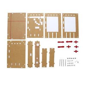 """Set di acrilico fai da te Case Cover Guscio Per DSO138 2.4"""" TFT oscilloscopio Accessorio"""