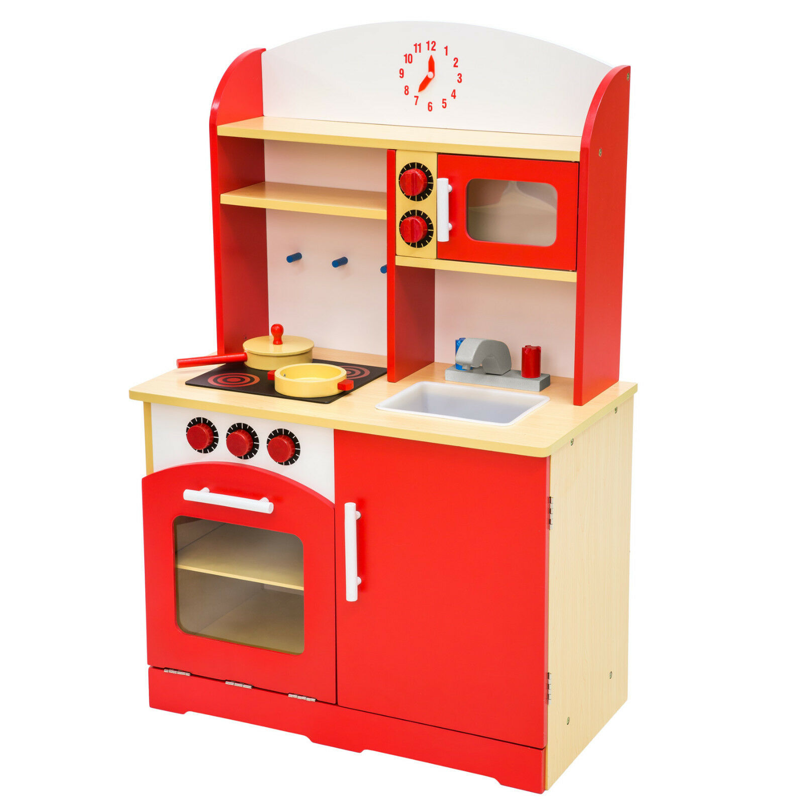 Kinderküche aus Holz Kinderspielküche Spielküche ...
