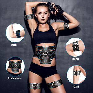 8-Pads-Abdominal-Muscle-Toner-EMS-Muscle-Stimulator-Abs-Trainer-For-Men-Women-US