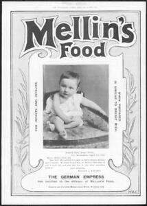 1898-Antique-ADVERTISING-Print-Mellins-Food-Infant-Food-213