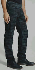 NWT True Religion Ricky Straight Jeans/Pants 31 Tiger Camo blackish blue/grey