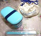 Japanese 2-Stage Lunch Box Bento-bako, Pouch,Chopsticks,belt  Blue