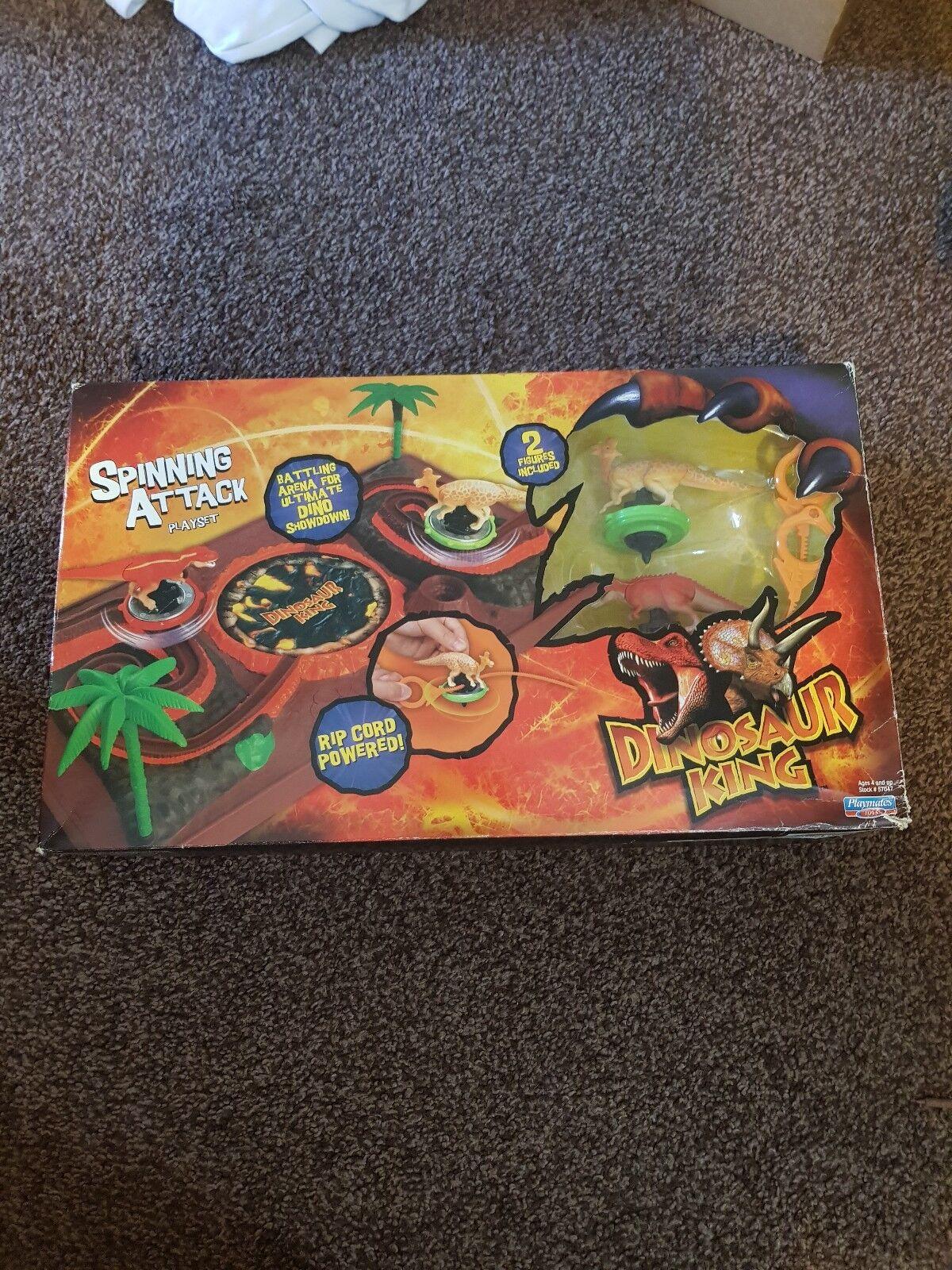 Dinosaur re SPINNING ATTACCO Playset Sega RARO IN SCATOLA  giocattoli  qualità autentica