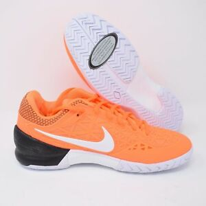 9616d04b51c0 Nike Zoom Cage 2 705247-801 Mens Tennis Shoes Orange   White