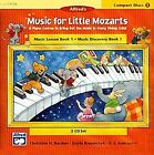 Music for Little Mozarts: Music Lesson Book 1: Music Discovery Book 1 by Alfred Publishing Co., Inc. (CD-Audio, 1999)
