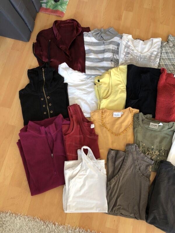 Sanft Damen Bekleidungspaket Klamottenpaket T-shirt Shirt Top Pullover Usw. - Größe M
