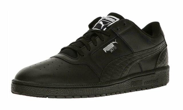nett Puma Sky II Lo B&W Leder Turnschuhe: : Schuhe billig