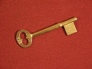 Antique Key Mortise Lock Uncut Yale Corbin Sargent Skeleton Bit Key Vintage