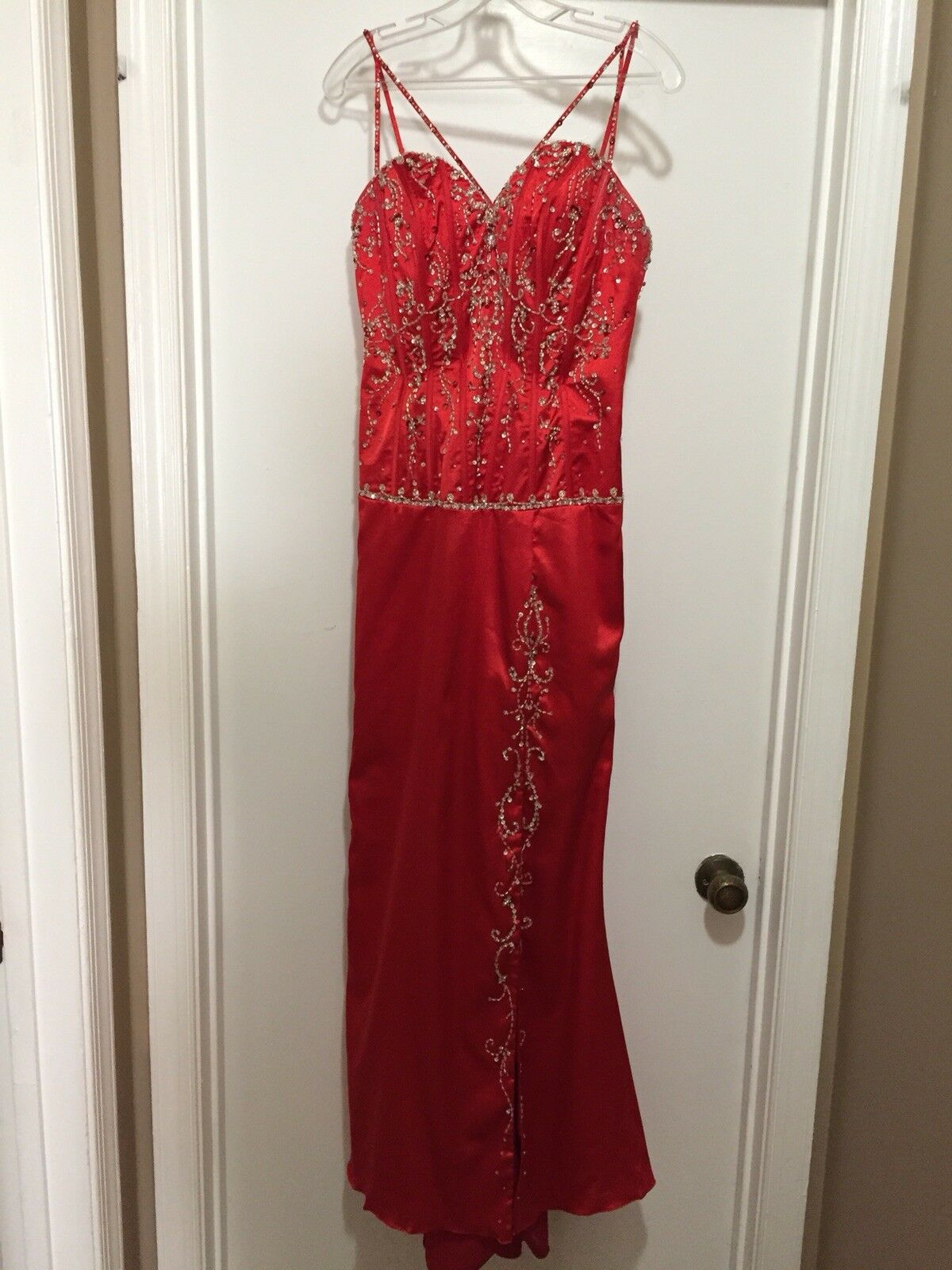 Red Prom Dress Size 9/10 Mori Lee by Madeline Gardner (Returns accepted)