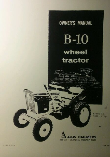 Allis Chalmers Gleaner Combines Booklets Industrial Reputation First
