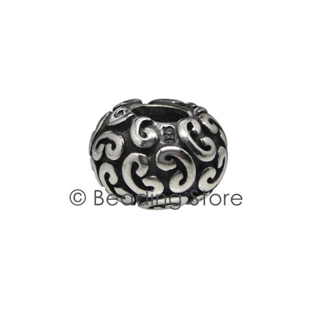 NEW Pandora Feeling Groovy Swirl Charm Bead Silver ALE Genuine Authentic 790400