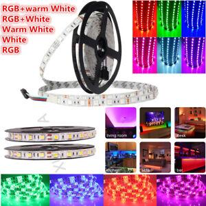 12V 5m 5050 Weiß RGBW RGB LED Stripe Streifen Licht wasserdichte Light Strip