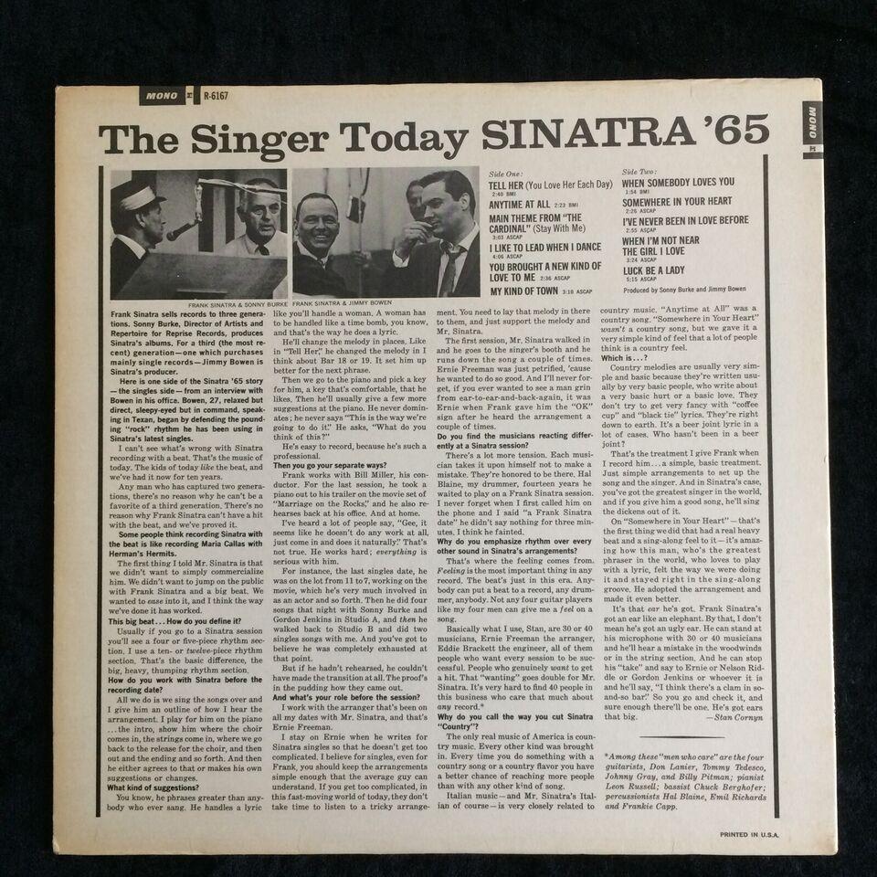 LP, Frank Sinatra, Sinatra '65