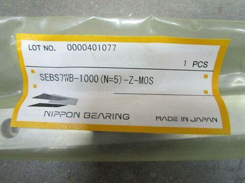 SEBS7WB-1000 Japan 1000mm Rail SEBS7 Rail Only Nippon No Block