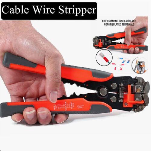 Automatic Cable Wire Striper Hand Terminals Tool Cutter Stripper Crimper Pliers