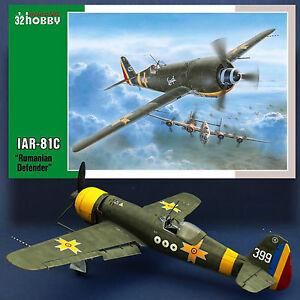 SPECIAL HOBBY 1/32 IAR-81C 'ROMANIAN DEFENDER' MIXED MEDIA KIT (RESIN AND P.E.)
