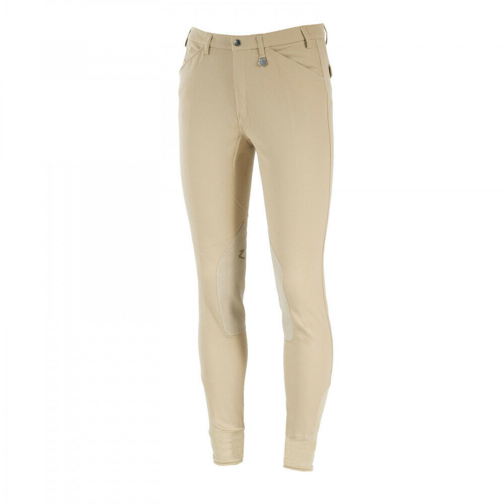 Horze Grand Prix  Men's Extend Knee Patch Riding Breeches Medium Waist  new style